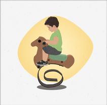 Juega. Un proyecto de Ilustración y Diseño gráfico de Luna Domínguez         - 06.03.2016