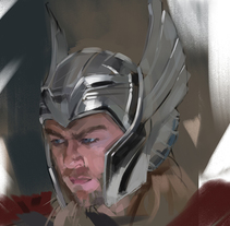 THOR. A Illustration, Comic, and Film project by Ismael Alabado Rodriguez - Mar 08 2016 12:00 AM