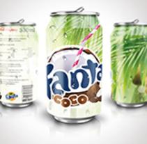 Packaging Lata de Refresco. Um projeto de Design gráfico, Design industrial e Packaging de Carlos Perez         - 11.03.2016
