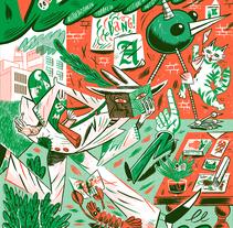PUMPK 2016. Un proyecto de Diseño e Ilustración de Adam Kozinski         - 14.09.2016