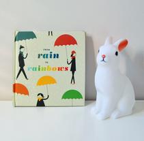 Publicación de estampados en el libro From rain to rainbows. Un proyecto de Diseño editorial, Diseño gráfico e Ilustración de Mónica Muñoz Hernández - Miércoles, 16 de marzo de 2016 00:00:00 +0100