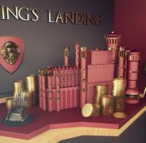 King's Landing! Hear me Roar!. A Motion Graphics, Film, Video, TV, 3D, Art Direction, Br, ing&Identit project by Albert Carruesco - 20-03-2016