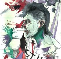 Retratos. A Illustration project by Miguel López Blanco         - 16.03.2016