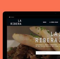 La Ribera de Bilbao. Un proyecto de Diseño Web y Desarrollo Web de Tintácora Estudio Creativo          - 21.03.2016