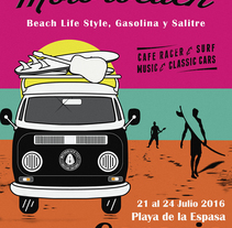 Cartel para el concurso Motorbeach 2016.. A Design project by Carlos Valdés - 27-03-2016