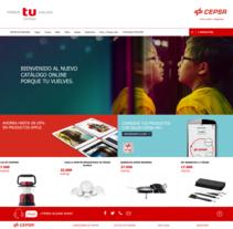 Tienda Cepsa - porque tu vuelves. Un proyecto de Desarrollo Web de Iván Quintas         - 27.03.2016