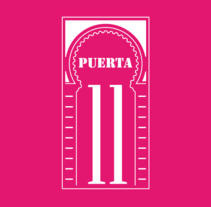 "BRANDING ""PUERTA 11"". A Design, Br, ing, Identit, and Graphic Design project by Antonio Algovia         - 27.03.2015"