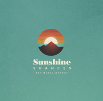 Identidad festival Sunshine Suances. A Art Direction, Br, ing, Identit, Graphic Design, and Collage project by Fran Rodríguez         - 29.03.2016
