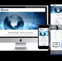 Diseño página. Un proyecto de Desarrollo Web de Araceli Agudo García         - 04.04.2016