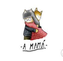 A mamá. A Illustration project by Andrei Arrunátegui - 05-04-2016
