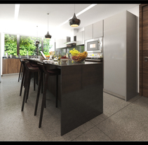 Cocina Cabbie. Un proyecto de Fotografía, 3D, Arquitectura, Cocina y Arquitectura interior de Lourdes Rodriguez         - 25.02.2016