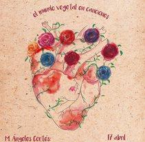 Cartel para evento: Cantos y Plantas. A Illustration, Events, and Graphic Design project by Raquel Gordillo         - 06.04.2016