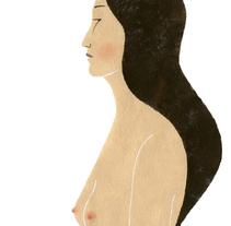 Las mujeres y el mar.. Un proyecto de Ilustración de Elena Odriozola Belástegui - 08.01.2016