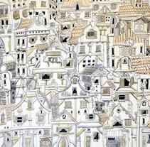Battleship town. A Illustration project by Joan Suárez Herrero         - 05.01.2015