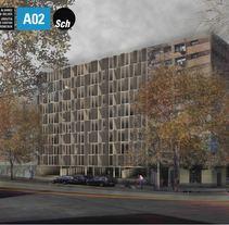 Vivienda Colectiva en Barrio Sur. Un proyecto de Arquitectura de Natalia Alvarez         - 31.10.2014