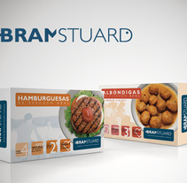 Bram Stuard Brand & food packaging. Um projeto de Packaging de Jose Ribelles         - 13.04.2016