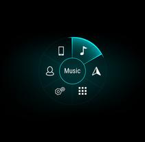 UI/UX HMI Concept. Um projeto de Motion Graphics, UI / UX e Design gráfico de Alessio Conte         - 14.04.2016