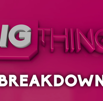 Breakdown Bigthings Promo 2016 . A Motion Graphics, and Post-Production project by Pep T. Cerdá Ferrández - Apr 20 2016 12:00 AM
