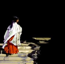 Painting Japan Square. Un proyecto de Ilustración, Fotografía e Informática de Isi Cano - Sábado, 09 de abril de 2016 00:00:00 +0200