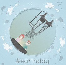 EarthDay . Un proyecto de Diseño y Diseño gráfico de Serena Padula         - 21.04.2016