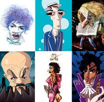Caricaturas. Un proyecto de Ilustración, Dirección de arte y Diseño editorial de Horacio Petre         - 25.04.2016