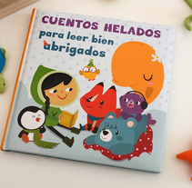 Cuentos Helados para leer bien abrigados. A Illustration project by Núria  Aparicio Marcos - Apr 27 2016 12:00 AM