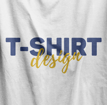 T shirt Design. A Fashion, and Graphic Design project by Estefania Carreres - 26-04-2016