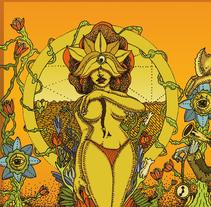 Ilustración Sanctum cervecería calavera. Un proyecto de Ilustración de Miguel Angel Montaño Martínez - 27-04-2016