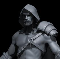 Proyecto final del curso Modelado de personajes en 3D. . A 3D project by jmrodenes         - 30.04.2016