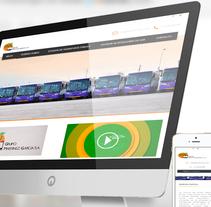 Sitio Web GNV. A Web Development project by As Diseño Diseño Web Monterrey         - 01.05.2016