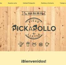 Web corporativa Restaurante. A Marketing, Web Design, and Web Development project by Chelo Fernández Díaz - 14-04-2016