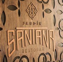 Jardín Santana. Un proyecto de Br e ing e Identidad de Christian Pacheco - 10-05-2016