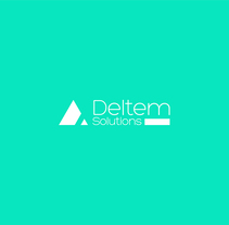 LOGO DESIGN - DELTEM SOLUTIONS. A Br, ing&Identit project by Isabel Saez Perez - 27-11-2014