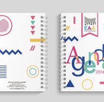 Agenda Escolar. Um projeto de Design de Toni Buenadicha         - 26.05.2016