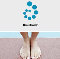 Imagen de los Campeonatos del Mundo de Natación Barcelona 2003. Un proyecto de Br e ing e Identidad de Enric Jardí - Jueves, 02 de junio de 2016 00:00:00 +0200