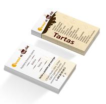 Tarjetas de visita (Caramel et Chocolat). A Design, Br, ing, Identit, and Graphic Design project by Antonio Rodríguez Torres - 05-06-2016