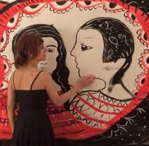live-painting with music. A Fine Art project by Anna Lisa  Miele - Jun 06 2016 12:00 AM
