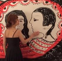 live-painting with music. Un proyecto de Bellas Artes de Anna Lisa  Miele - Lunes, 06 de junio de 2016 00:00:00 +0200