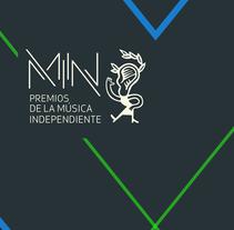 Premios de la Música Independiente. Un proyecto de Música, Audio y Desarrollo Web de DESVÍO 21  - 06-06-2016