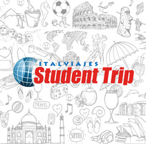 STUDENT TRIP (BRANDING). A Br, ing, Identit, and Video project by Joel Astete         - 31.05.2016