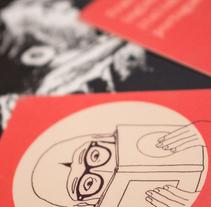 Tarjeta de visita para Regina López Muñoz. Um projeto de Ilustração e Design gráfico de Pelayo Rodríguez         - 10.06.2016