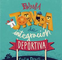 Jornada integración deportiva Moratalaz. A Design, Illustration, and Graphic Design project by Lalo Garcia         - 16.06.2016