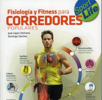 """Maquetación libro """"Fisiología y fitness para corredores populares"""". Um projeto de Design editorial de Vicente Torres Gimeno         - 19.12.2014"""