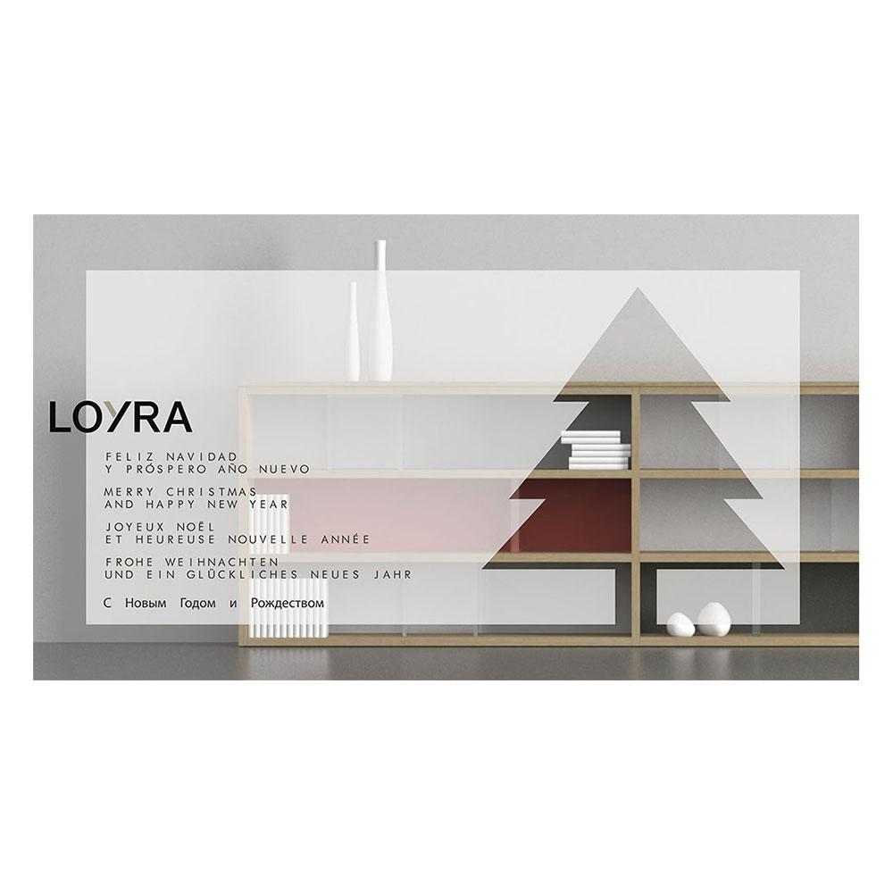 Felicitaci n de navidad loyra mobiliario domestika - Loyra mobiliario ...