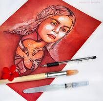 Daenerys Targaryen. Um projeto de Ilustração e Artes plásticas de Vanessa Arraña Diaz         - 26.06.2016