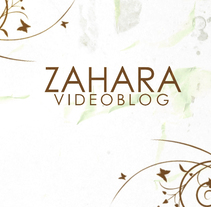 Cabecera Videoblog Zahara. A Music, Audio, Motion Graphics, Film, Video, TV, Film Title Design, Post-Production, Collage, and Stop Motion project by Alfonso Alonso - 07-02-2016