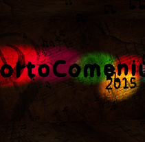 Cabecera CortoComenius. A Motion Graphics, Film, Video, TV, Animation, and Post-Production project by Sergio Gómez Villarroya - 13-09-2015