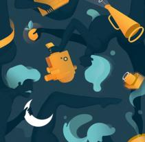 Cinema Jove 2016. Un proyecto de Ilustración, Motion Graphics y Diseño gráfico de Casmic Lab  - 17-07-2016