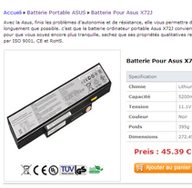 Asus X71SL Batterie Acheter. A Information Architecture project by heigaibie123         - 20.07.2016