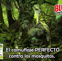 El camuflaje perfecto contra los mosqitos. A Design, Advertising, Graphic Design, and Marketing project by Carlos Sánchez del pozo         - 21.07.2016